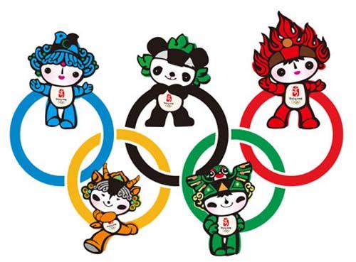 2008年奥运会吉祥物图片