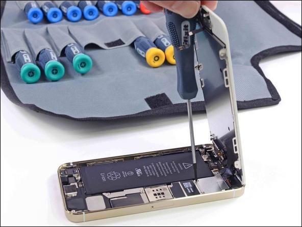 做工依舊精致 蘋果iPhone 5S拆解圖文評測